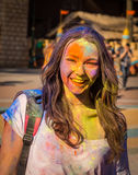Holi celebrations Stock Photos