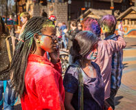 Holi celebrations Royalty Free Stock Image