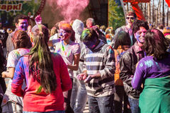 Holi celebrations Royalty Free Stock Images