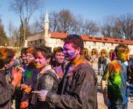 Holi celebrations Stock Images