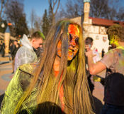 Holi celebrations Royalty Free Stock Photos