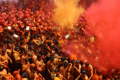 Holi - Color Festival in India Stock Image