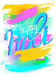 Holi colorful background. Stock Images