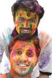 Holi colorido Imagenes de archivo