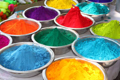 Holi Colors Stock Photos