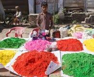 Holi Colors Stock Photos