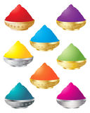 Holi colors Royalty Free Stock Photo