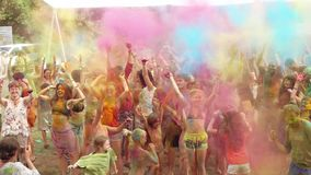 Holi Colors Festival stock footage