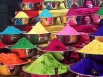 Holi. Colour of happy Royalty Free Stock Photo