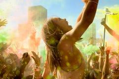 Holi ein Festival Lizenzfreie Stockfotos