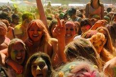 Holi ein Festival Lizenzfreies Stockfoto