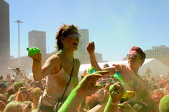 Holi ein Festival Lizenzfreie Stockfotografie