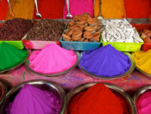 Holi Farben Stockfotografie