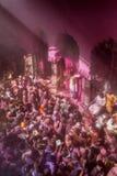 Holi-Feier, Vrindavan und Mathura, Indien Lizenzfreies Stockfoto