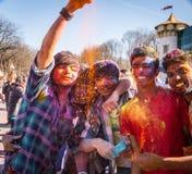 Holi-Feiern Lizenzfreie Stockfotos