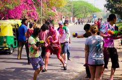 Holi Festival Lizenzfreie Stockfotografie