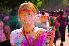 Holi Festival Lizenzfreies Stockfoto