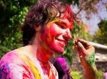 Holi Festival Stockfoto