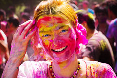 Holi Festival Stockfotos