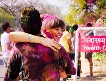 Holi Festival Stockbild