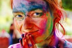 Holi Festival Lizenzfreie Stockbilder