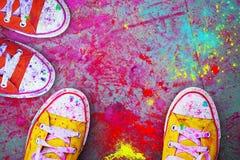Holi Festival Lizenzfreies Stockbild