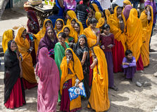 Holi festival Royaltyfri Bild