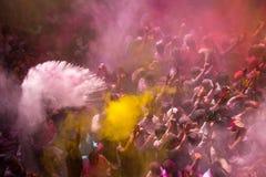 Holi festival Arkivbilder