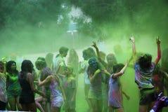 Holi festival arkivbild