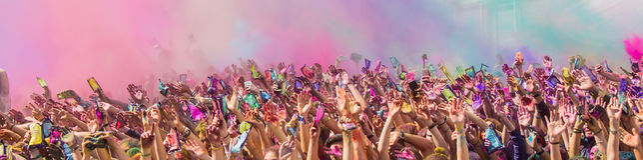 Holi Festival stockbilder