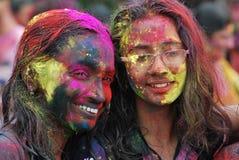 Holi festival av färg Fotografering för Bildbyråer