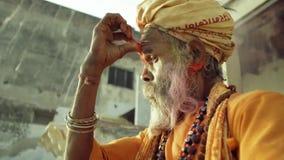 Holi festival av Indien lager videofilmer