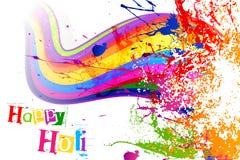 Holi Festival Background Design. Vector illustration of Holi festival background design Royalty Free Stock Image