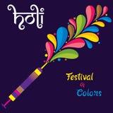 Holi festival banner design. Colorful holi festival of india, big festival offer banner design Royalty Free Stock Photo