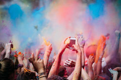 Holi Festival Royalty Free Stock Photos