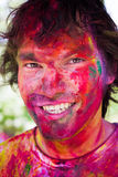 Holi festival celebrations in India Royalty Free Stock Photo