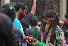 holi festival of coliur royalty free stock photography