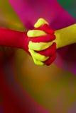 Holi. Festival of color - Hindu festival Stock Image