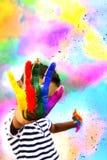 Holi. Festival of color - Hindu festival Royalty Free Stock Photography