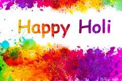 Holi. Festival of color - Hindu festival Royalty Free Stock Photos