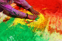 Holi- Festival of Colors Stock Image