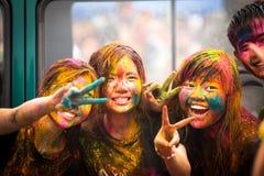 Holi Festival of Colors Royalty Free Stock Photo