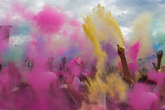 Holi festival of colours, India. A high resolution image of Holi festival of colours, India Royalty Free Stock Photo