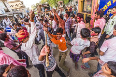 Holi, the festival of colours, in Mandawa Royalty Free Stock Images