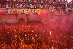 Holi - festival de couleur dans l'Inde Photo libre de droits