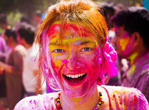 Holi Festival Stock Photography