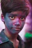 Holi Festival in Indien Lizenzfreie Stockfotografie