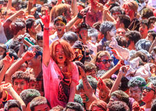Holi Festival, Kathmandu, Nepal Royalty Free Stock Photos