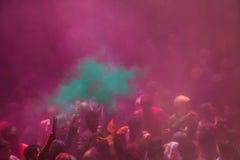 Holi Festival. In Mathura India Stock Photo