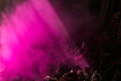 Holi Festival. In Mathura India Stock Images